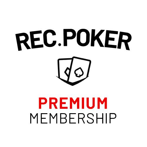 REC.POKER Premium Membership