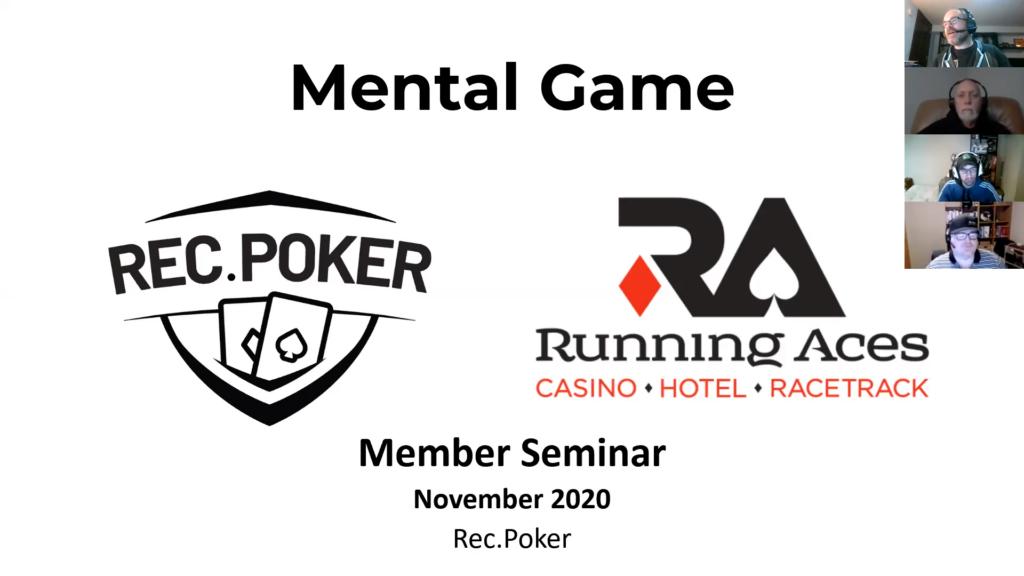 November Mental Game seminar