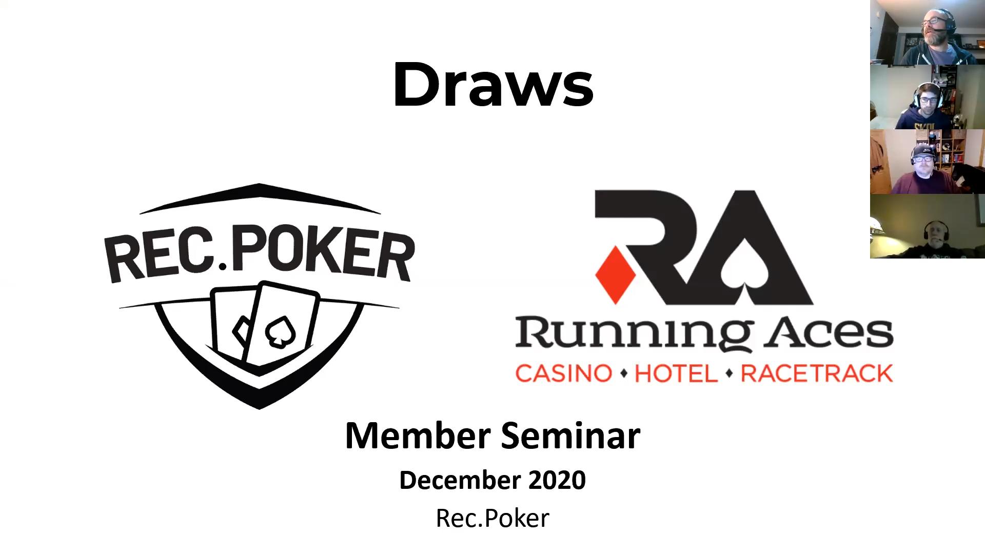 Draw poker odds calculator